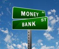 Tablica drogowa Money - Bank