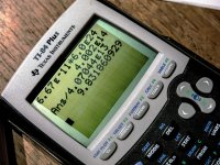 Zbliżenie na kalkulator